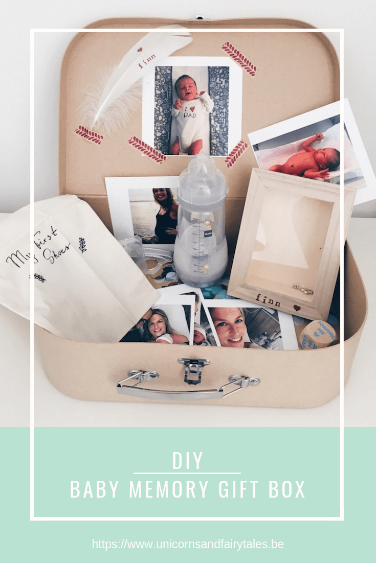 20x originele 23 - DIY // Baby memory box zelf maken