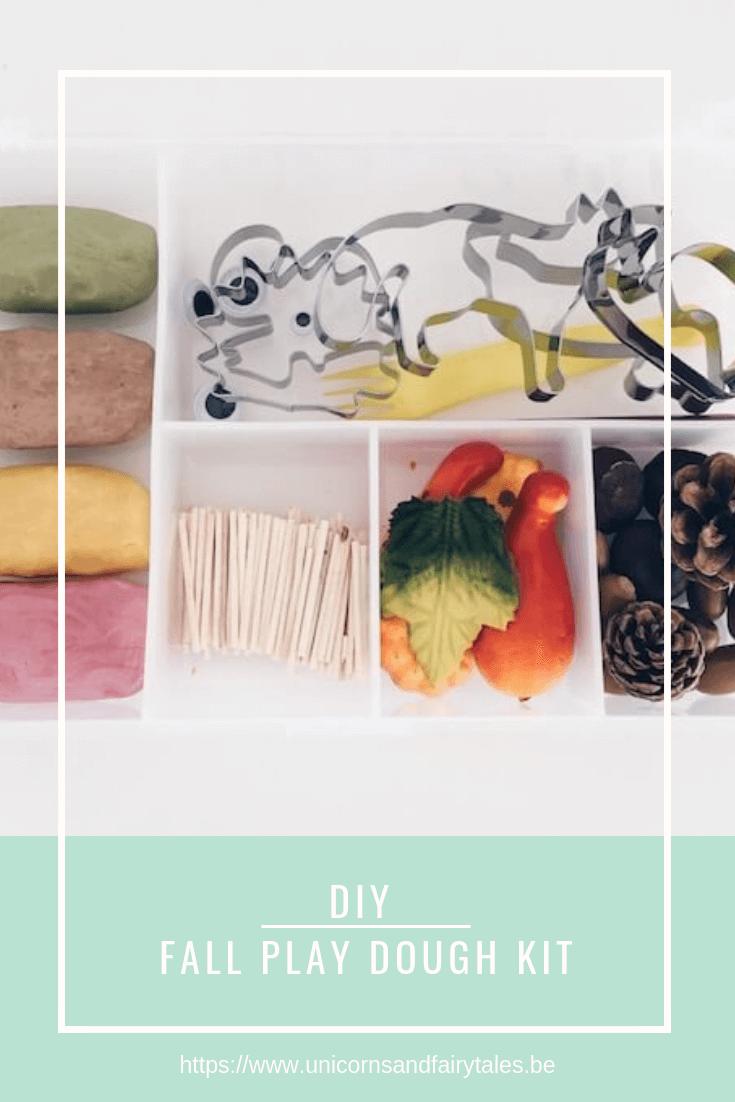 20x originele 9 - DIY // Herfst Play Dough Kit