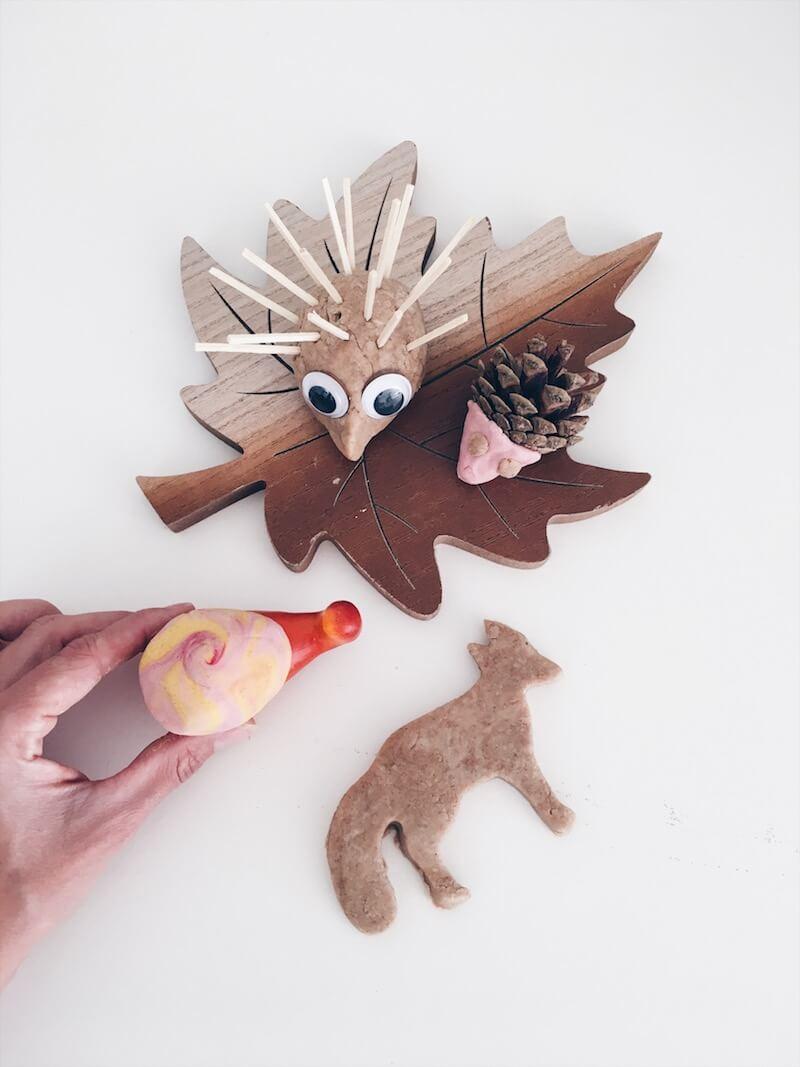 herfstdieren knutselen - unicorns & fairytales