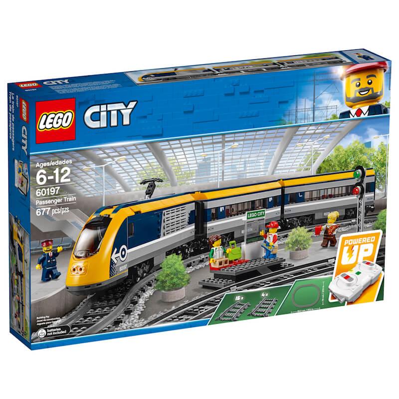 60197 Box1 v39 - Lego en Train World slaan de handen in elkaar & win de Duplo stoomtrein of Lego Passagierstrein