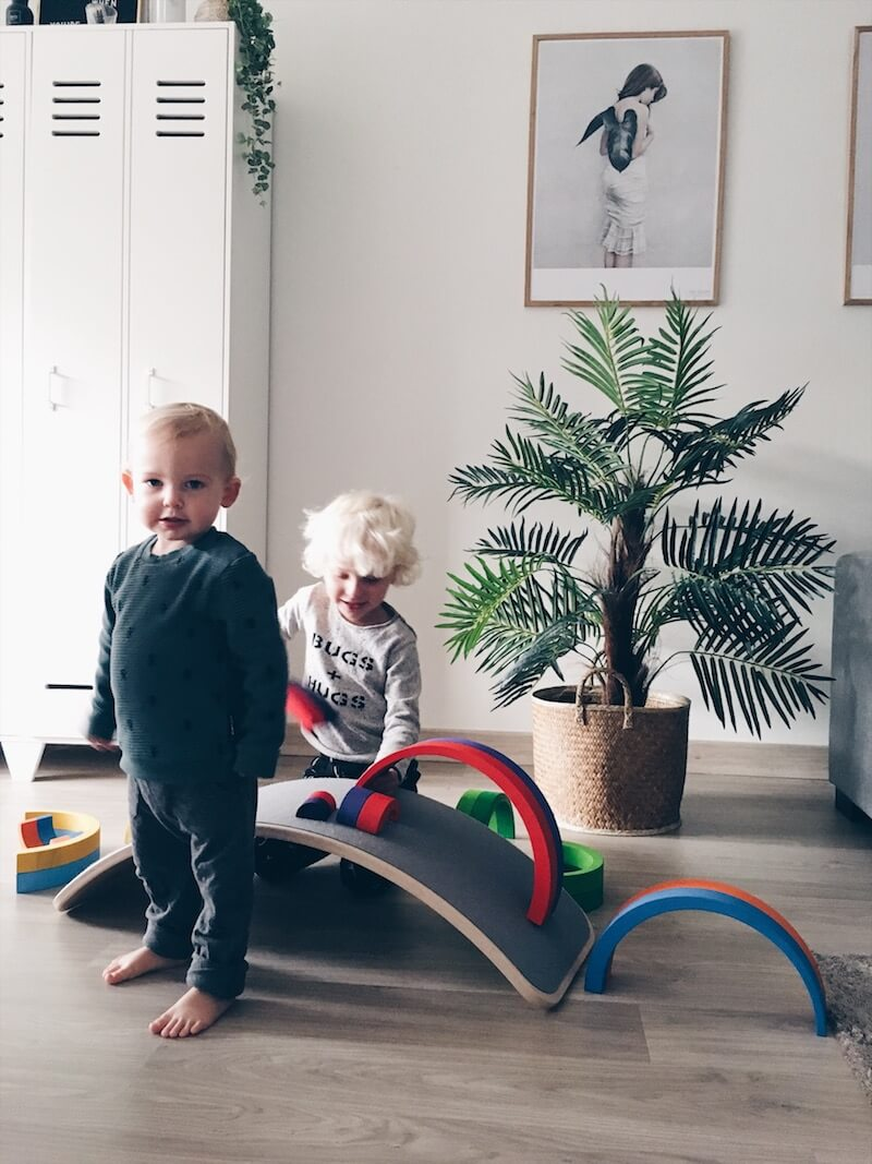 houten regenboog spelvormen - unicorns & fairytales