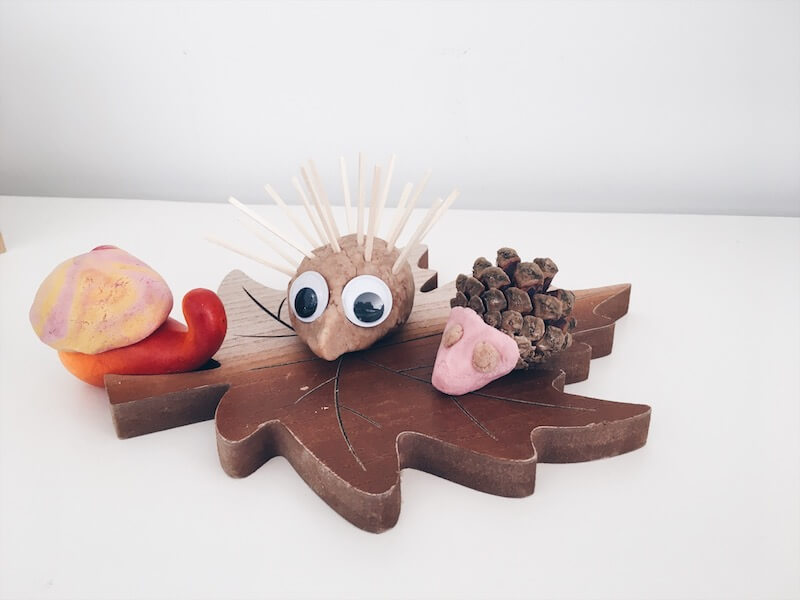 herfstdiertjes maken - unicorns & fairytales