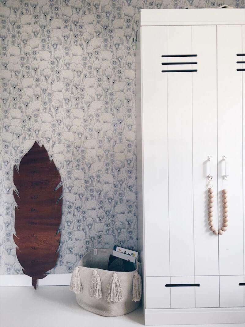 houten groeimeter - unicorns & fairytales