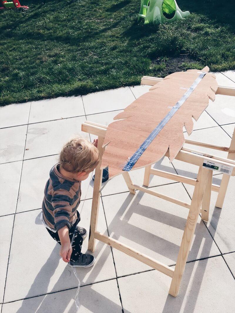 76A3336A 3C8D 4652 BC8D E2E10A2647DE - DIY // zelf een mooie houten groeimeter maken
