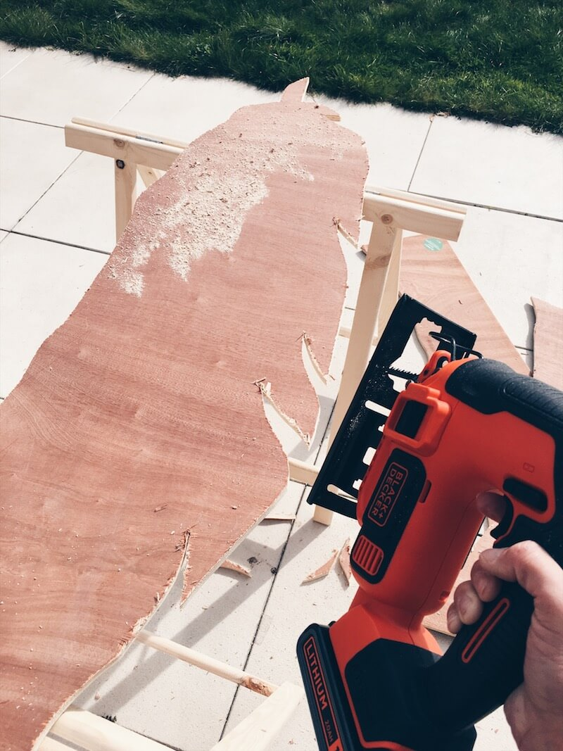 houten groeimeter maken - unicorns & fairytales
