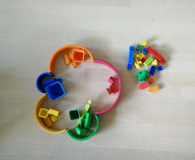 Houten regenboog 48 - Leuke spelvormen met de houten regenboog van Bajo en Grimm's + WIN!