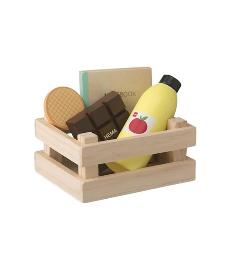 houten boodschappenset 15122392 pdpmain - Budgetvriendelijk houten speelgoed van Hema, de toppers