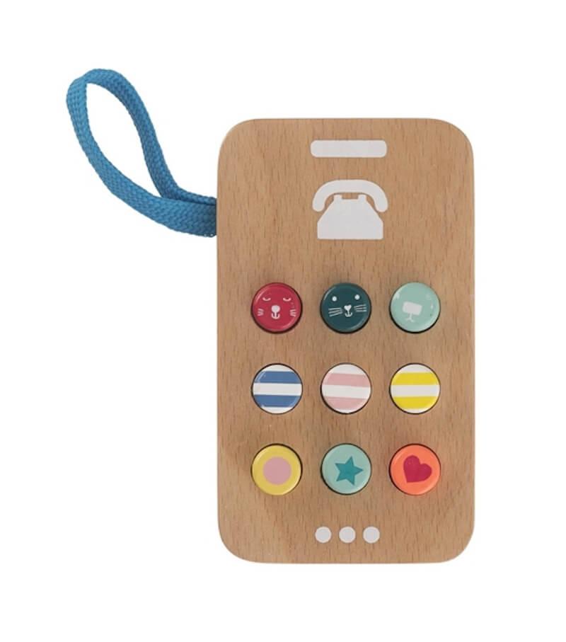 houten telefoon 15122384 pdpmain - Budgetvriendelijk houten speelgoed van Hema, de toppers