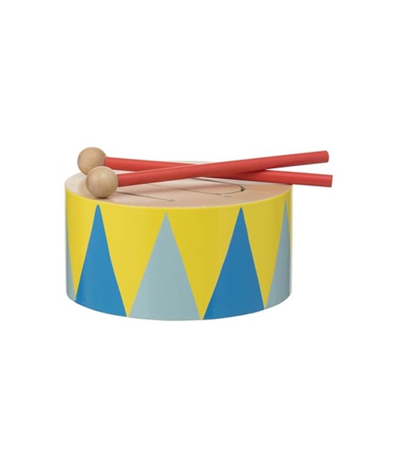 houten trommel 15122379 pdpmain - Budgetvriendelijk houten speelgoed van Hema, de toppers