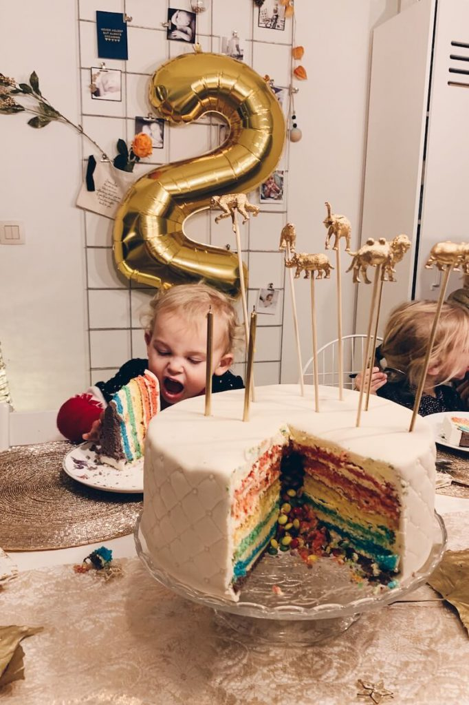 042227F9 401E 4208 931B F58C6D565310 682x1024 - Zelf een verjaardagstaart in (kerst)thema maken: tips en ideetjes.