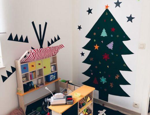 vilten kerstboom - unicorns & fairytales