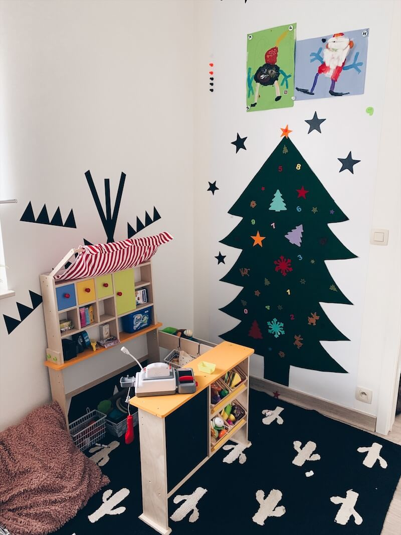 knutselen rond kerst met kinderen - unicorns & fairytales
