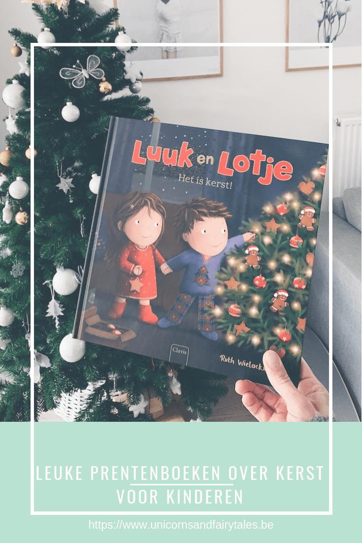 prentenboek over kerst - unicorns & fairytales