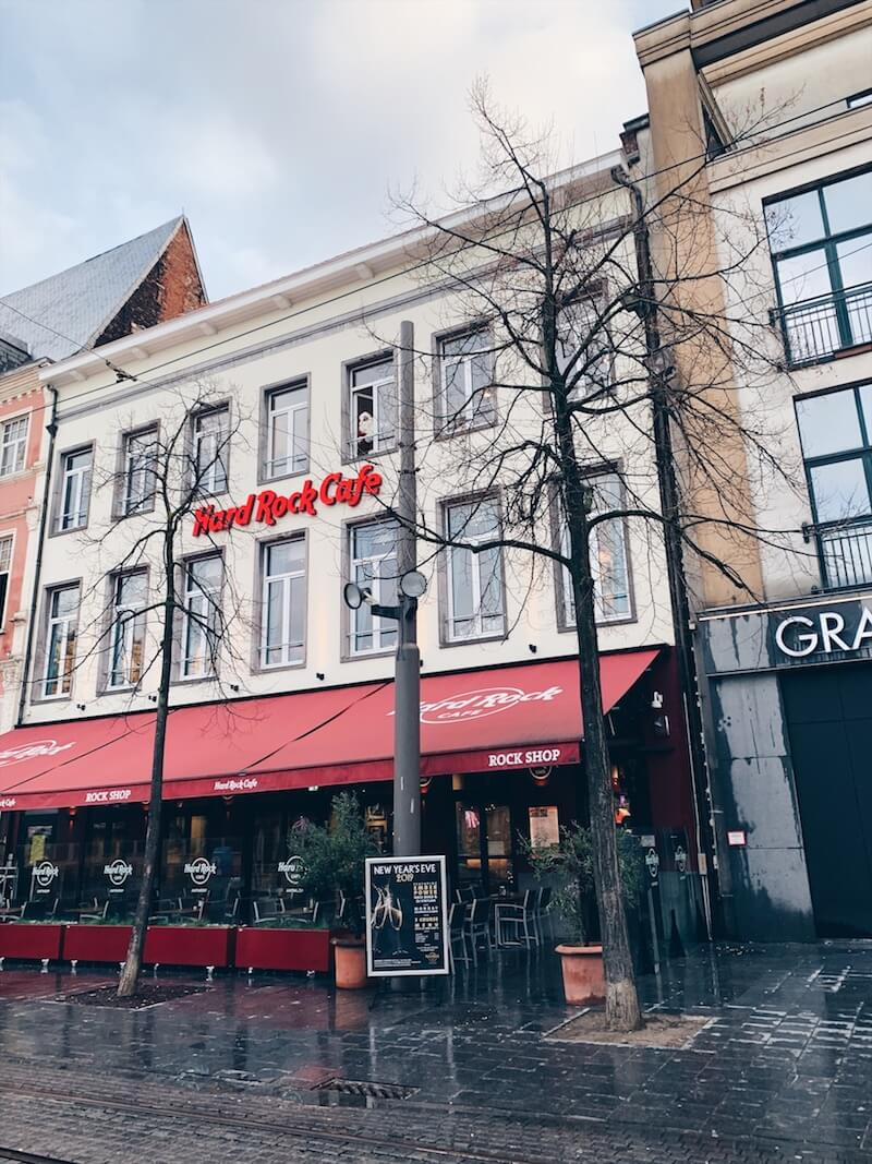 hard rock café in Antwerpen - unicorns & fairytales