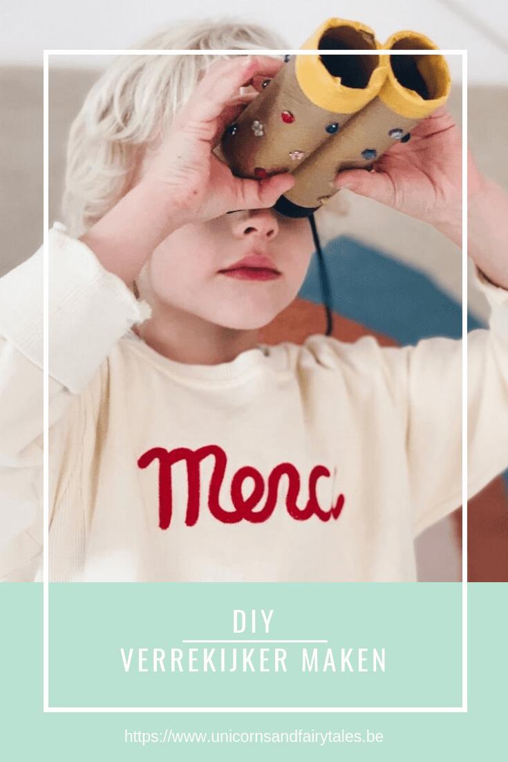 DIY verrekijker - unicorns & fairytales
