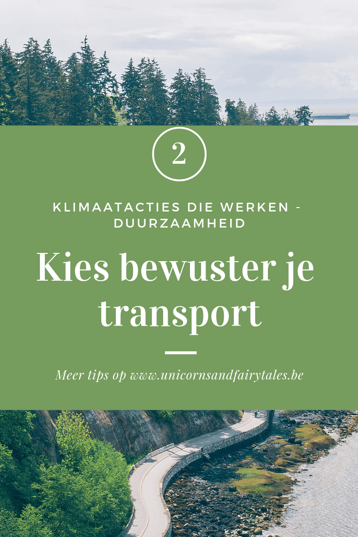 duurzaam vervoer - unicornis & fairytales
