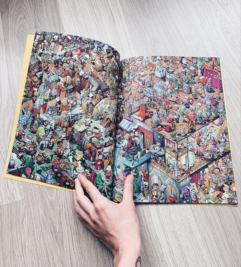 gepersonaliseerd zoekboek - unicorns & fairytales