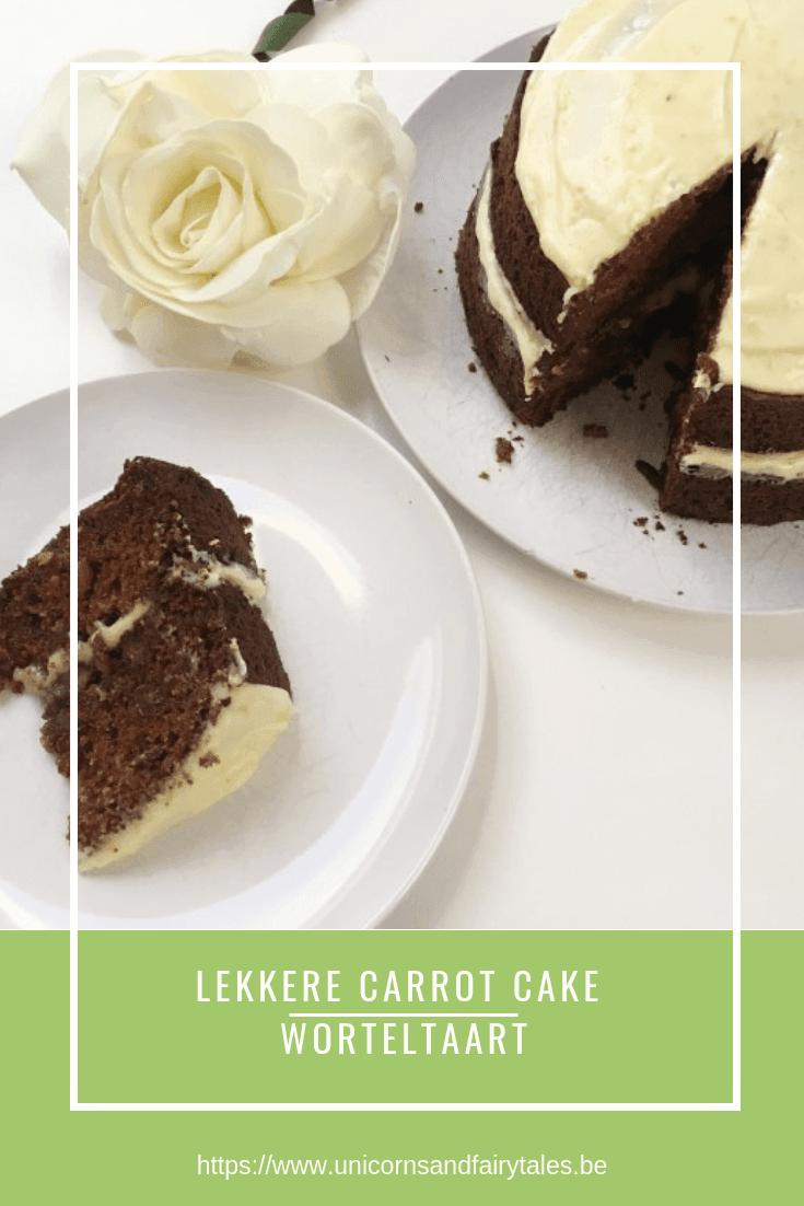 carrot cake worteltaart - unicorns & fairytales