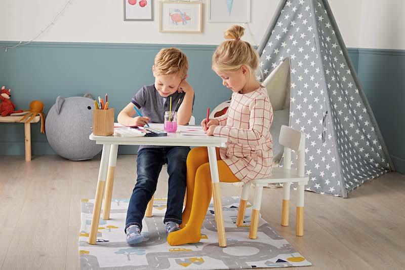 307190 Sfeerfoto - Budgetvriendelijke kinderkamer musthaves met Scandinavische looks