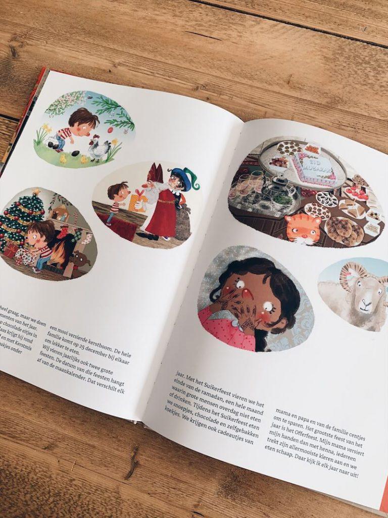 bij mij thuis prentenboek - unicorns & fairytales
