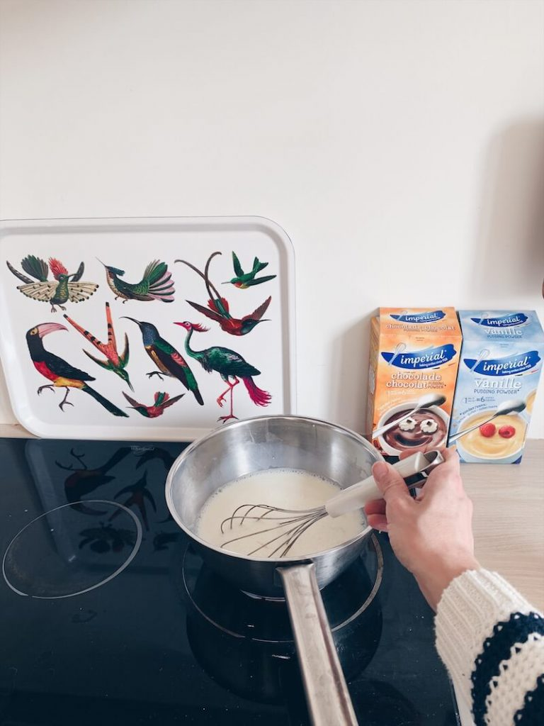 verse pudding maken - unicorns & fairytales