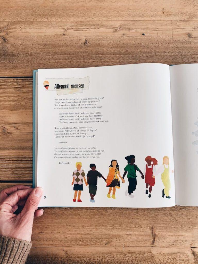 samen over de grens boek - unicorns & fairytales