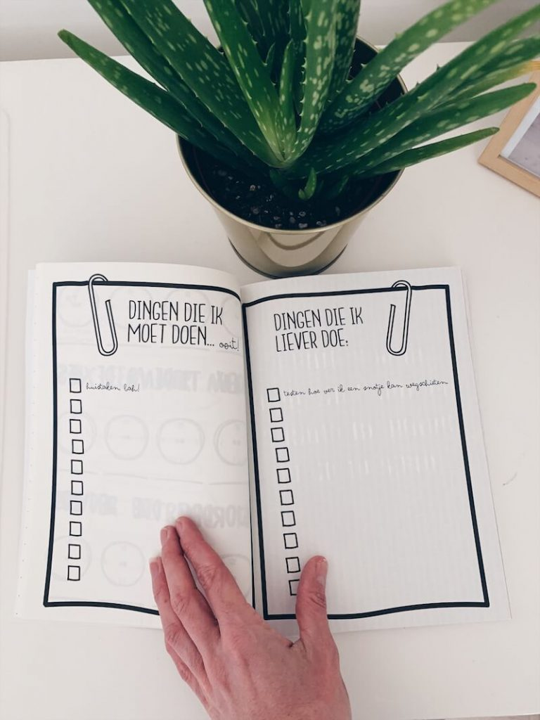 7C6D4108 B638 4ABB BCAC F16A74B2BE61 768x1024 - Een boek waarin je kunt knoeien, krabbelen en speuren? Yes...