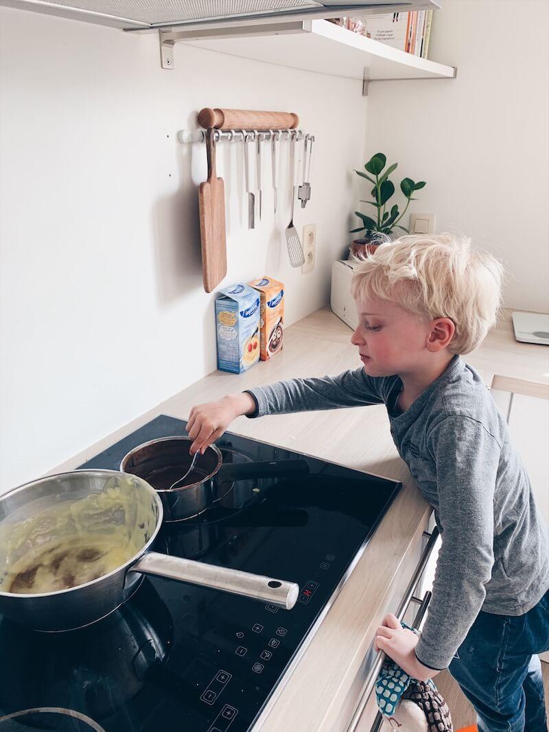 verse pudding maken met kinderen - unicorns & fairytales