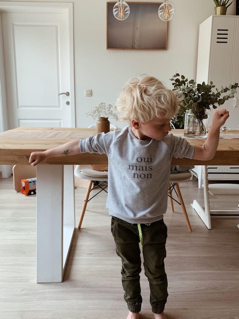 kind kleed zichzelf aan - unicorns & fairytales
