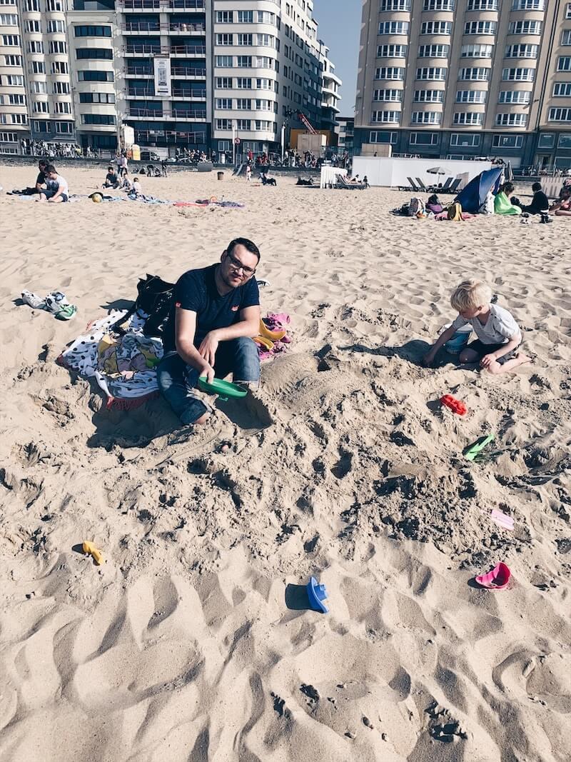strandspelletjes met kinderen - unicorns & fairytales