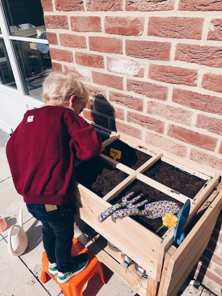 32F1EF9F A677 4344 B773 A17BBAE508AC 768x1024 - 10 tips en ideetjes bij het beginnen van een moestuin met kinderen