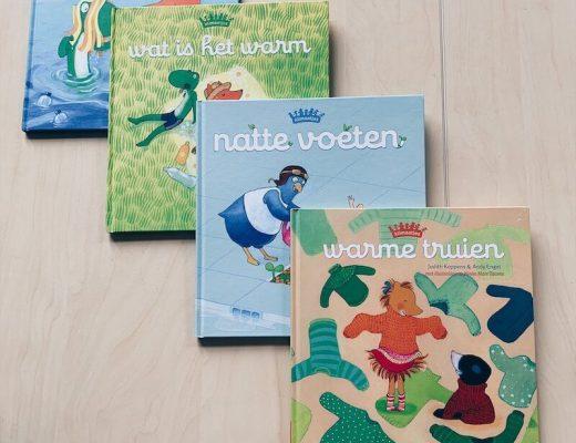 boeken van de klimaatjes, uitgeverij Clavis