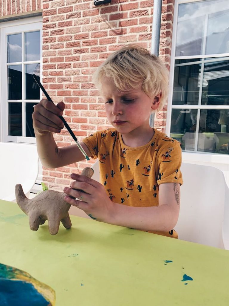dino's schilderen - unicorns & fairytales