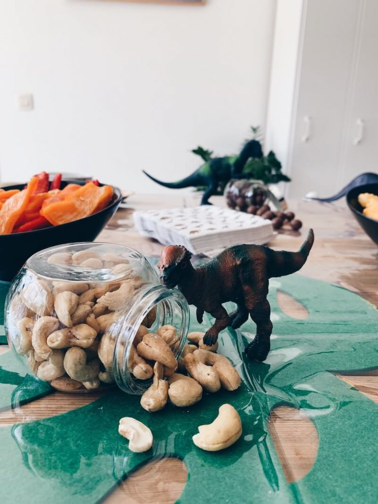 dino verjaardag snacks - unicorns & fairytales
