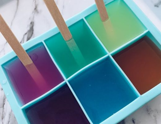 schilderen met ijsblokjes - unicorns & fairytales