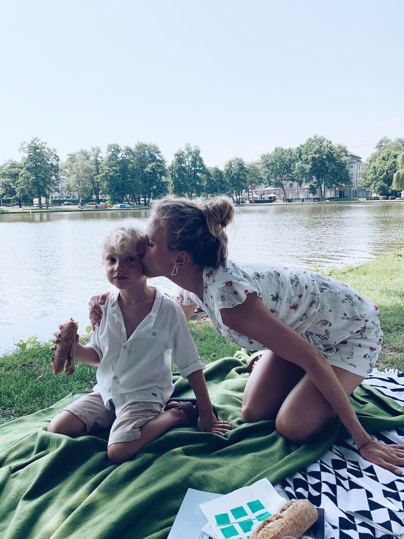 picknicken Molenvijverpark Genk - unicorns & fairytales