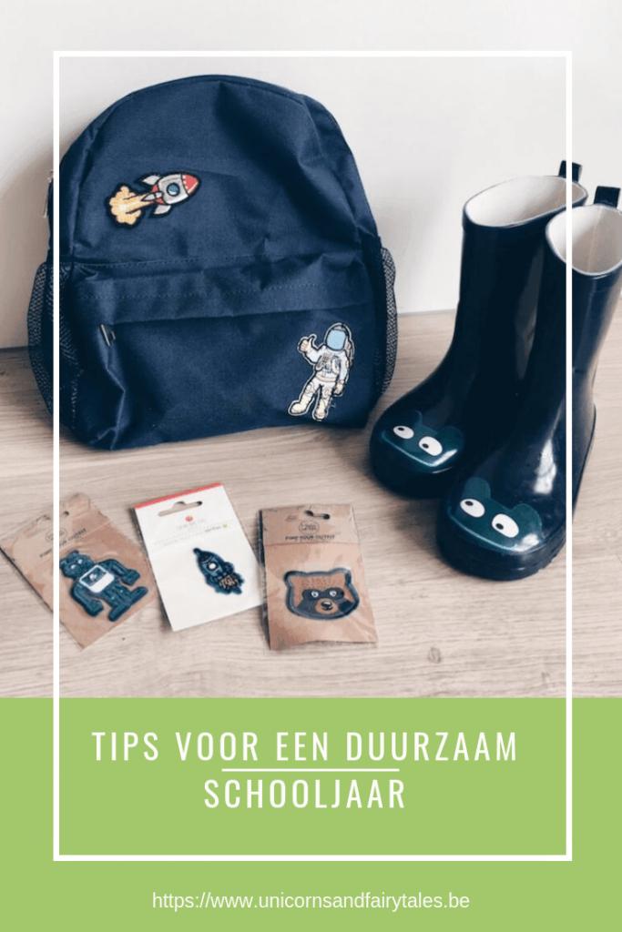 duurzaam schooljaar tips - unicorns & fairytales