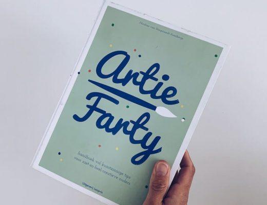 Artie Farty boek - unicorns & fairytales