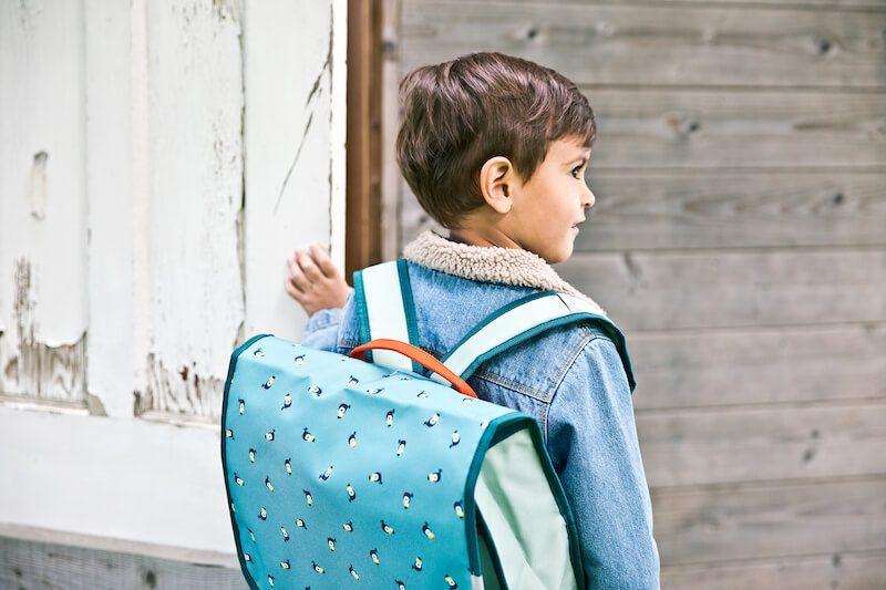 84429 JACK SCHOOLBAG Kid - Back to school met de kleurrijke vriendjes van Lilliputiens & WIN