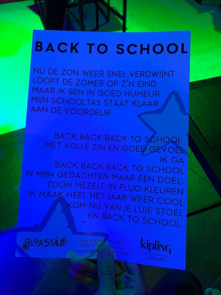route2school en Kipling - unicorns & fairytales