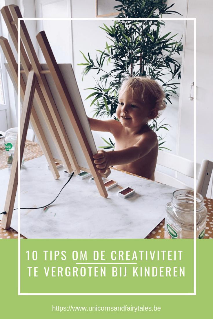 creativiteit vergroten bij kinderen - unicorns & fairytales