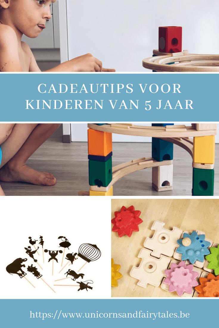 cadeautips voor kinderen van 5 jaar - unicorns & fairytales