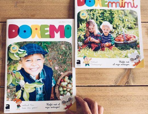 Doremi tijdschriften voor kleuters - unicorns & fairytales