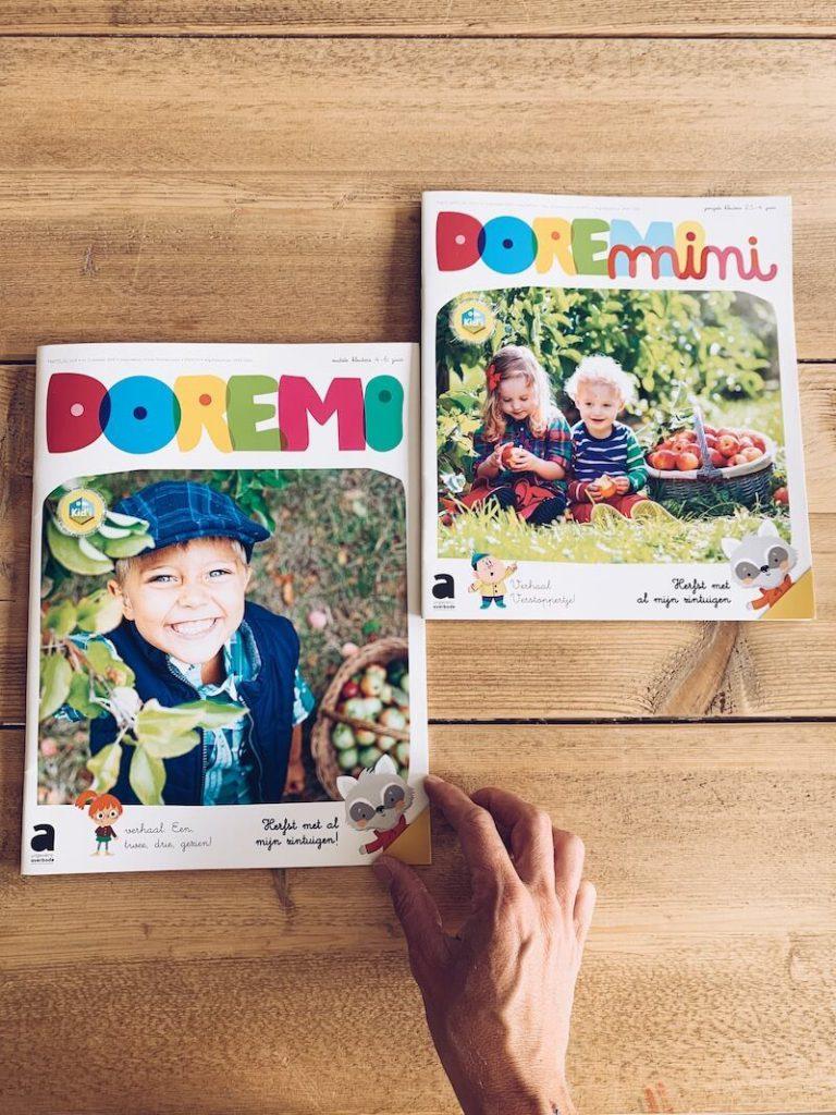7D0CEF2C 114F 444C BD33 483B940618AA 768x1024 - Leerrijke en toffe tijdschriften voor kleuters: Doremi en Doremi MINI