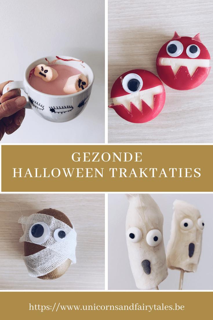 gezonde halloween traktaties voor kinderen - unicorns & fairytales
