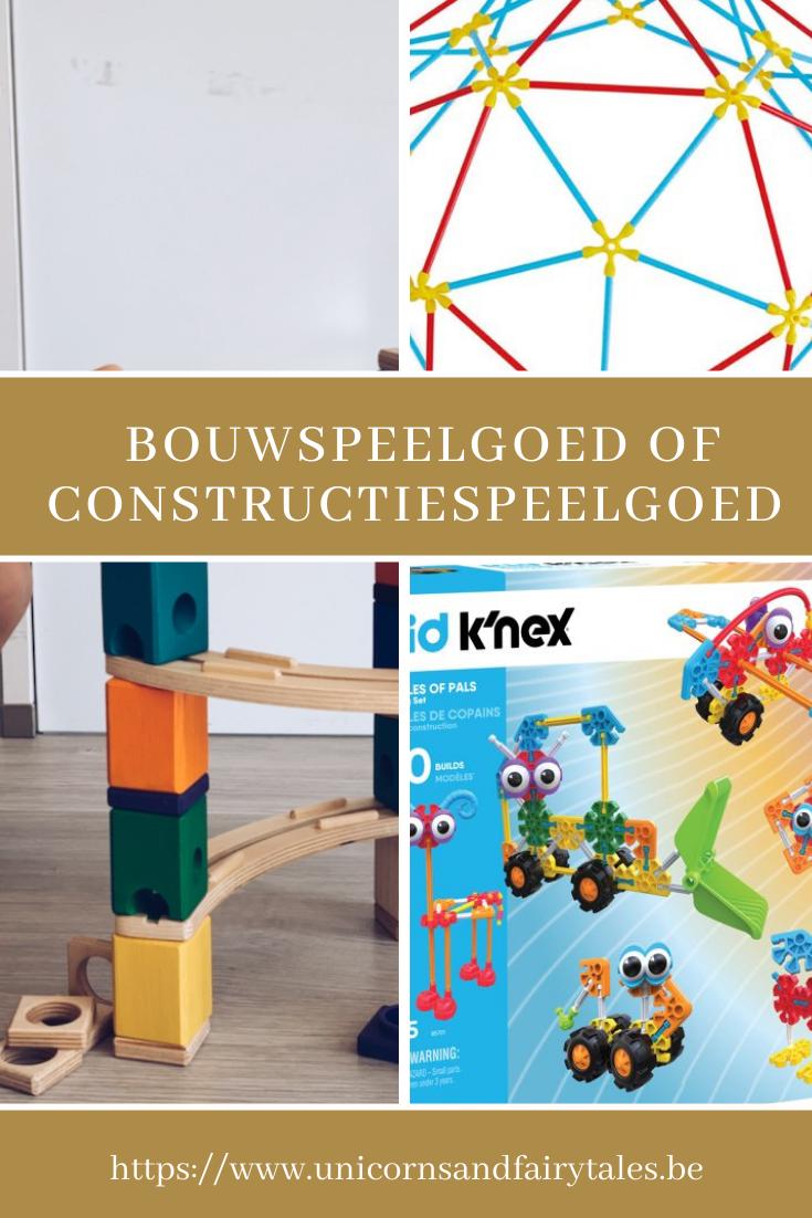 bouwspeelgoed en constructiespeelgoed - unicorns & fairytales