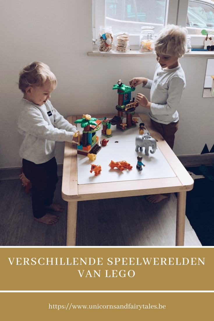 lego speelwerelden - unicorns & fairytales