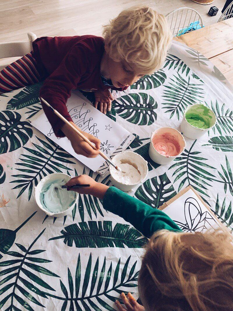 puffy paint maken - unicorns & fairytales