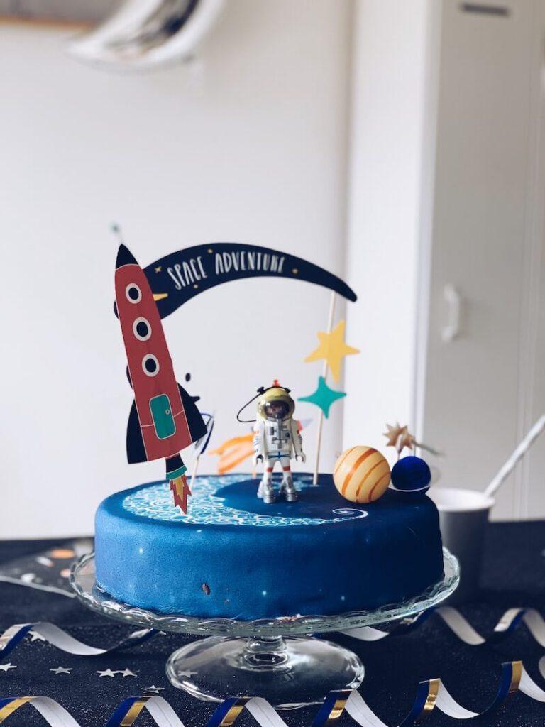 astronautentaart - unicorns & fairytales
