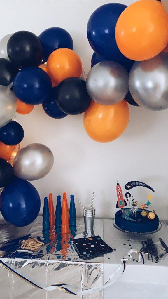 96EC193F 74D2 4FEC 8133 6402A14AB995 576x1024 - Wij hadden een astronautenfeestje! Zo organiseer je een verjaardagsfeest met als thema ruimte!